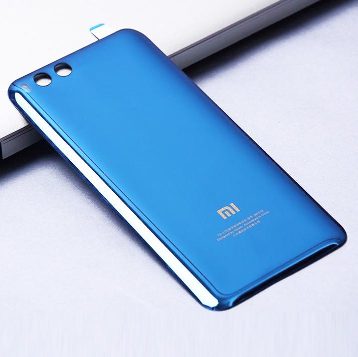 Задняя крышка Xiaomi Mi6 синяя оригинал