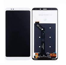 Дисплей Xiaomi Redmi 5 Plus + сенсор білий