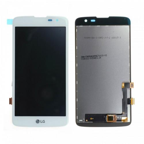 Дисплей LG X210 K7, X210DS + сенсор белый