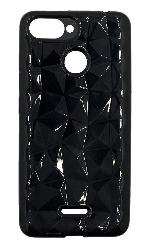 Чохол Xiaomi Redmi 6 силікон чорний призма