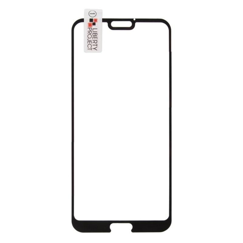 Защитное стекло Huawei Honor 10 Full Glue чёрное