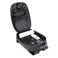 Дизайнерский влагозащищенный 3D-рюкзак Arctic Hunter B00320, для ноутбука 15,6 дюймов, 20л, фото 9