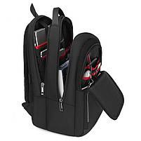 Спортивный дорожный рюкзак Arctic Hunter B00289, с тремя отделениями и USB портом, 28л, фото 7