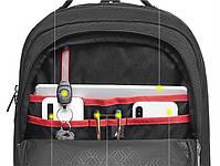 Спортивный дорожный рюкзак Arctic Hunter B00289, с тремя отделениями и USB портом, 28л, фото 9