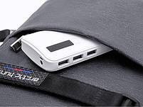 Однолямочный влагозащищённый рюкзак через плечо Arctic Hunter XB00079, 5л, фото 7