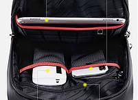 Стильный однолямочный рюкзак Arctic Hunter XB00080, влагозащищённый, 5л, фото 6