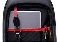 Стильный однолямочный рюкзак Arctic Hunter XB00080, влагозащищённый, 5л, фото 7