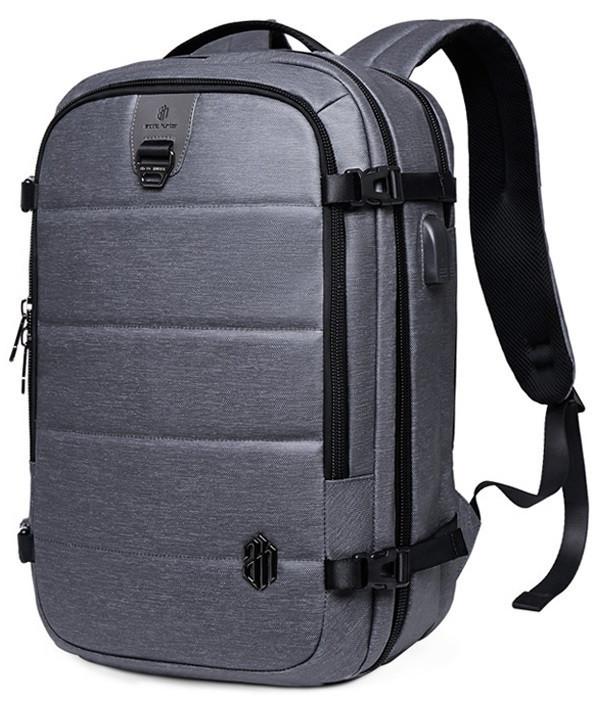 Дорожный рюкзак-сумка для ноутбука Arctic Hunter B00260, влагозащищённый, 24л