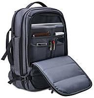 Дорожный рюкзак-сумка для ноутбука Arctic Hunter B00260, влагозащищённый, 24л, фото 6