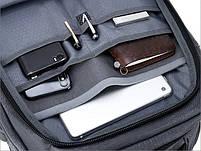 Дорожный рюкзак-сумка для ноутбука Arctic Hunter B00260, влагозащищённый, 24л, фото 7