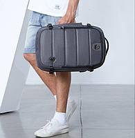 Дорожный рюкзак-сумка для ноутбука Arctic Hunter B00260, влагозащищённый, 24л, фото 10