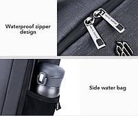 Классический рюкзак для ноутбука Arctic Hunter B00251, влагозащищённый, с USB портом, 21л, фото 5