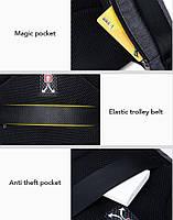 Классический рюкзак для ноутбука Arctic Hunter B00251, влагозащищённый, с USB портом, 21л, фото 6
