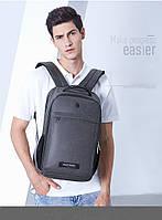 Классический рюкзак для ноутбука Arctic Hunter B00251, влагозащищённый, с USB портом, 21л, фото 9