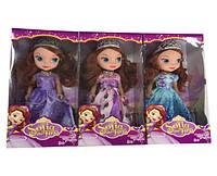 """Лялька (кукла) """"S"""" """"Софія прекрасна"""" BL81-B (120шт/2) 3 види, 25см, з короною, намистом в кор. 12,5*7*27 см"""