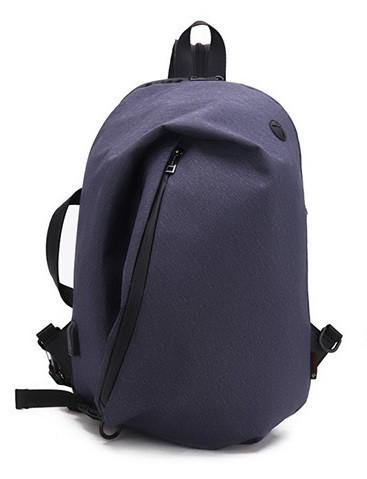 Модный однолямочный рюкзак-мешок-сумка Arctic Hunter B00195, водозащищенный, 20л Синий