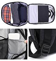 Стильный влагозащищённый дизайнерский рюкзак для бизнеса и путешествий Arctic Hunter B00193, 22л, фото 5