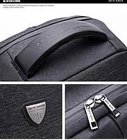 Стильный влагозащищённый дизайнерский рюкзак для бизнеса и путешествий Arctic Hunter B00193, 22л, фото 7