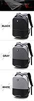Стильный влагозащищённый дизайнерский рюкзак для бизнеса и путешествий Arctic Hunter B00216, 22л, фото 2
