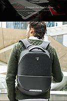 Стильный влагозащищённый дизайнерский рюкзак для бизнеса и путешествий Arctic Hunter B00216, 22л, фото 10