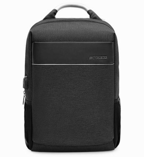 Стильный деловой рюкзак для ноутбука до 15,6 дюймов Arctic Hunter B00218-2, влагозащищённый, 23л