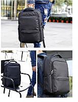 Деловой  рюкзак для ноутбука до 15,6 дюймов Arctic Hunter B00069, влагозащищённый, с USB портом, 23л, фото 10