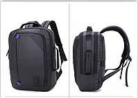Универсальный влагозащищённый рюкзак-брифкейс 4в1 для ноутбука до 15,6 дюймов Arctic Hunter 1500346, 20л, фото 6