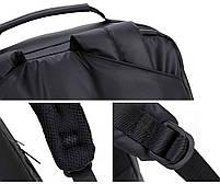 Универсальный влагозащищённый рюкзак-брифкейс 4в1 для ноутбука до 15,6 дюймов Arctic Hunter 1500346, 20л, фото 8