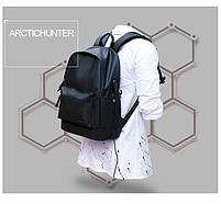 Молодёжный влагозащищённый рюкзак для ноутбука до 15,6 дюймов Arctic Hunter B00073, 22л, фото 7