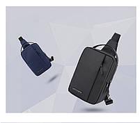 Удобная сумка-мессенджер через плечо для бизнеса и путешествий Arctic Hunter XB130027, 3л, фото 7