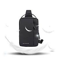 Удобная сумка-мессенджер через плечо для бизнеса и путешествий Arctic Hunter XB130027, влагозащищённая, 3л, фото 4
