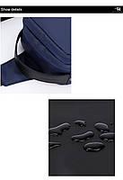 Удобная сумка-мессенджер через плечо для бизнеса и путешествий Arctic Hunter XB130027, влагозащищённая, 3л, фото 5