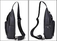 Удобная сумка-мессенджер для бизнеса и путешествий Arctic Hunter XB13005, влагозащищённая, 4л, фото 2