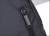 Удобная сумка-мессенджер для бизнеса и путешествий Arctic Hunter XB13005, влагозащищённая, 4л, фото 5