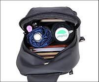 Удобная сумка-мессенджер для бизнеса и путешествий Arctic Hunter XB13005, влагозащищённая, 4л, фото 7