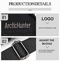 Влагозащищённый рюкзак-сумка с одной лямкой через плечо и отверстием для наушников Arctic Hunter XB00014, 4л, фото 5