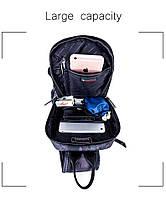 Удобная сумка-мессенджер для бизнеса и путешествий Arctic Hunter XB00033, многофункциональная, 4л, фото 9