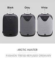 Стильный рюкзак для ноутбука Arctic Hunter B00208, многофункциональный, с кодовым замком, 24л, фото 2