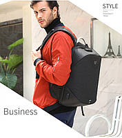 Стильный рюкзак для ноутбука Arctic Hunter B00208, многофункциональный, с кодовым замком, 24л, фото 10
