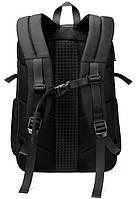 Дизайнерский дорожный рюкзак для ноутбука 17 дюймов Arctic Hunter B00295, влагозащищённый, 28л, фото 2