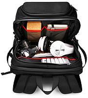 Дизайнерский дорожный рюкзак для ноутбука 17 дюймов Arctic Hunter B00295, влагозащищённый, 28л, фото 7