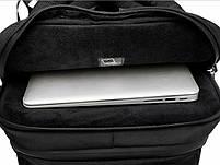 Дизайнерский дорожный рюкзак для ноутбука 17 дюймов Arctic Hunter B00295, влагозащищённый, 28л, фото 10