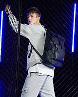 Современный модный рюкзак-мешок Arctic Hunter B00293 с отделением для ноутбука 15,6 дюймов, 23л, фото 10
