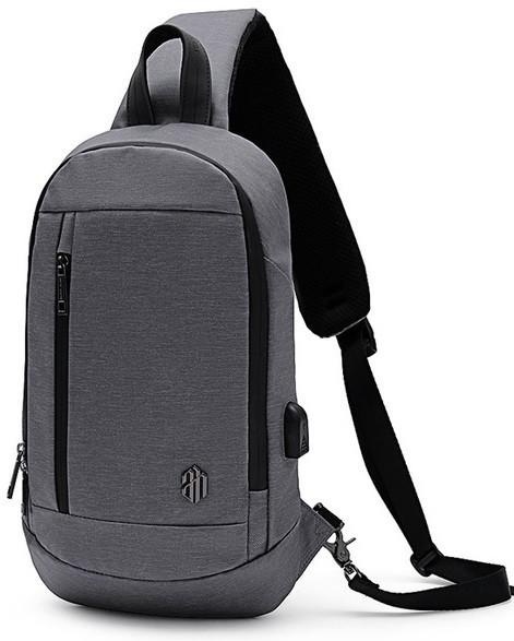 Однолямочный рюкзак через плечо Arctic Hunter XB00077, влагозащищённый, 5л