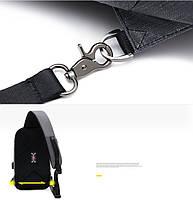 Однолямочный рюкзак через плечо Arctic Hunter XB00077, влагозащищённый, 5л, фото 6