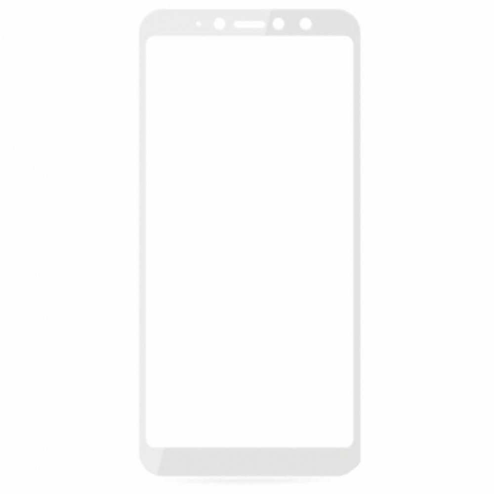Защитное стекло Xiaomi Redmi S2 2.5D Full Screen белое (тех упаковка)