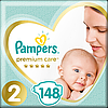 Подгузники детские Pampers Premium Care New Baby 2 (4-8 кг) Mega Pack 148 шт