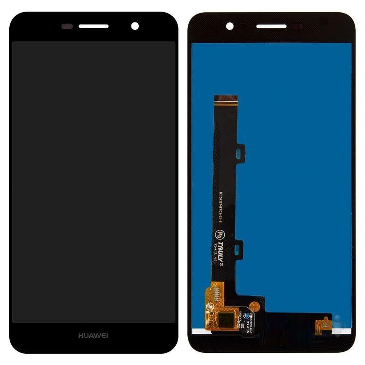 Дисплей Huawei Y6 Pro (TIT-U02, TIT-AL00), Enjoy 5, Honor Play 5X + сенсор чёрный + рамка