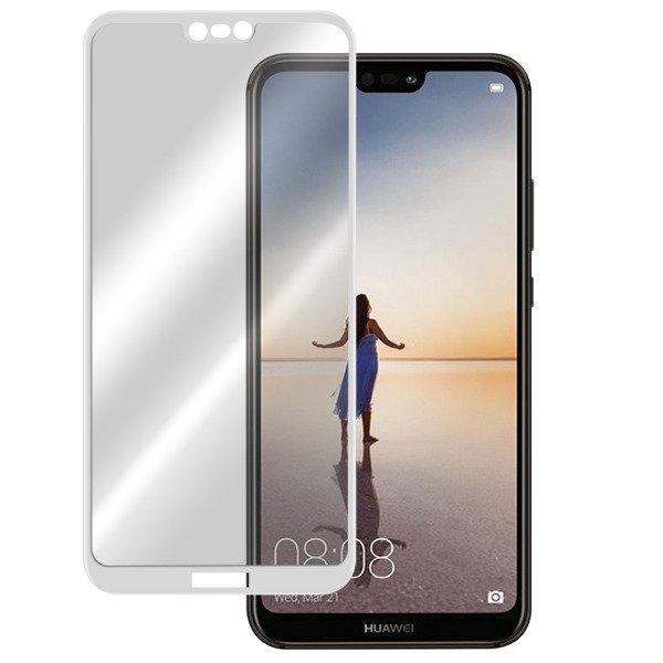 Защитное стекло Huawei P20 Full Glue белое (тех упаковка)