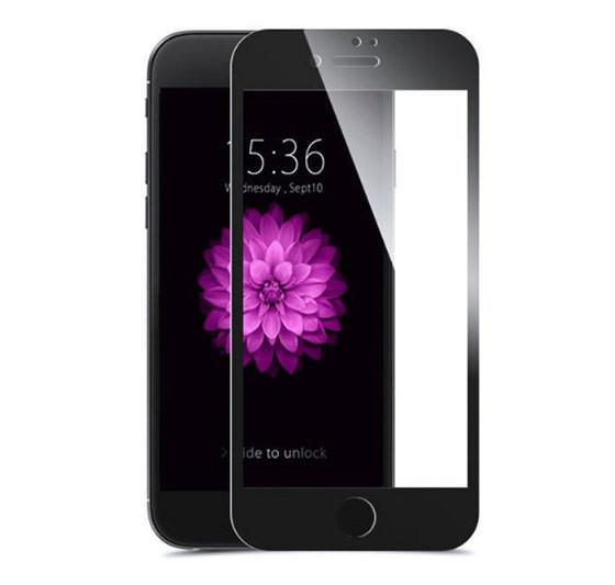 Защитное стекло iPhone 7, 8 Full Glue чёрное